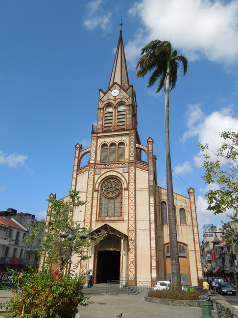 Saint Louis Cathedral, Marinique