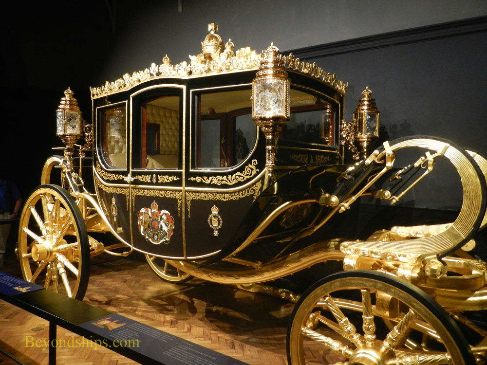 Diamond Jubilee State Coach, Royal Mews, Buckingham Palace, London
