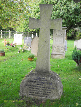 Picture New Forest England Doyle grave