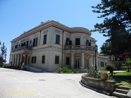 Mon Repos Palace Corfu Greece