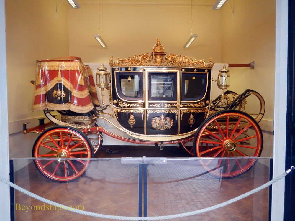 Irish State Coach, Royal Mews, Buckingham Palace, London