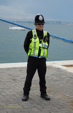 Police constable in Gibraltar