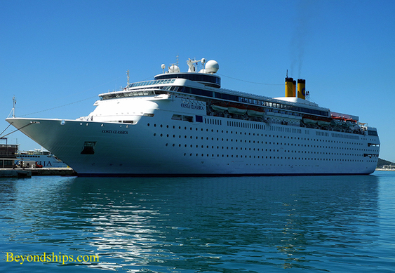 Cruise ship Costa Classica in Split Croatia