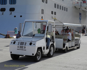 cruise port shuttle St Maarten