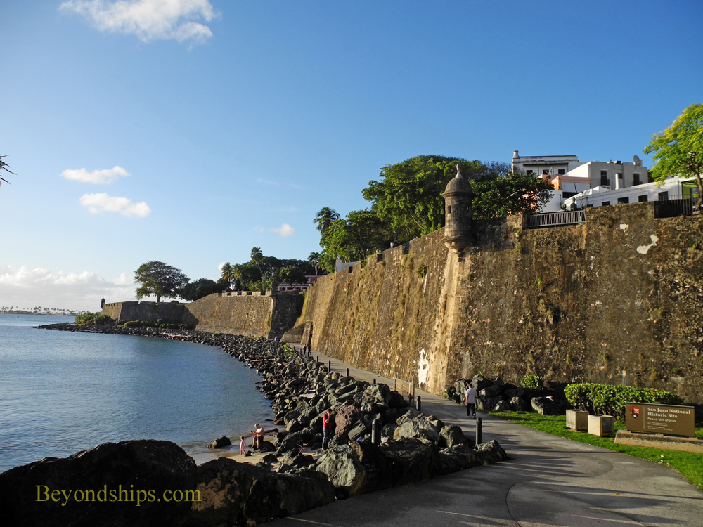 Picture Paseo de Morro Old San Juan, cruise destination