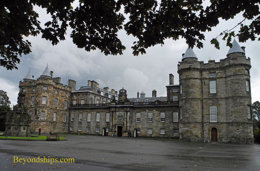 Picture Holyroodhouse Palaceen