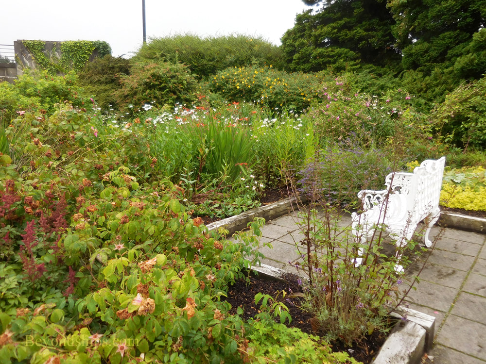 Garden at Belleek Pottery, Northern Ireland
