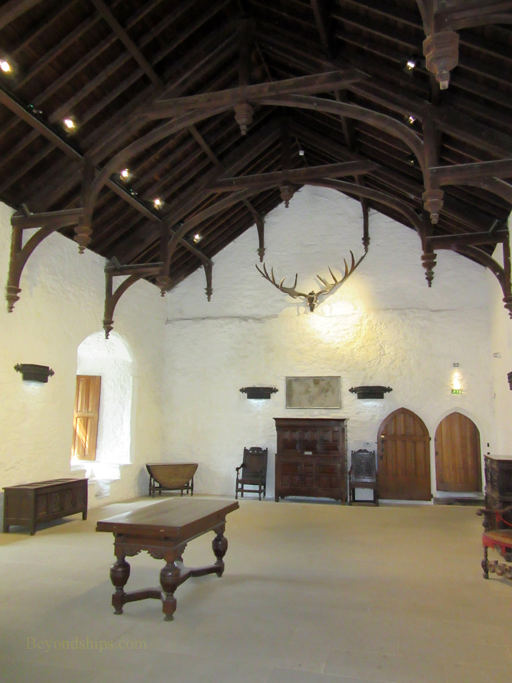 Great Hall, Cahair Castle, Ireland