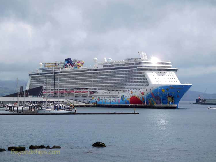 Norwegian Breakaway in Ponta Delgada