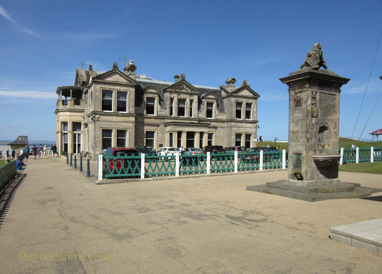 Clubhouse of the Royal and Ancient Golf Club of St. Andrews, Scotland