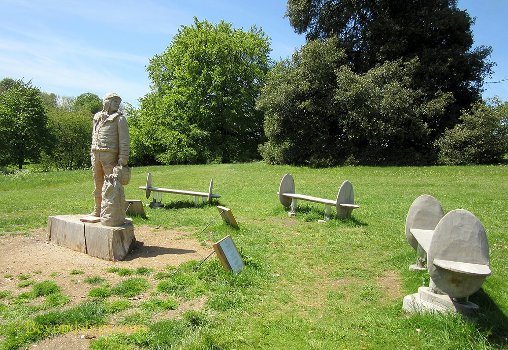 Airmen's memorial at Highclere Castle