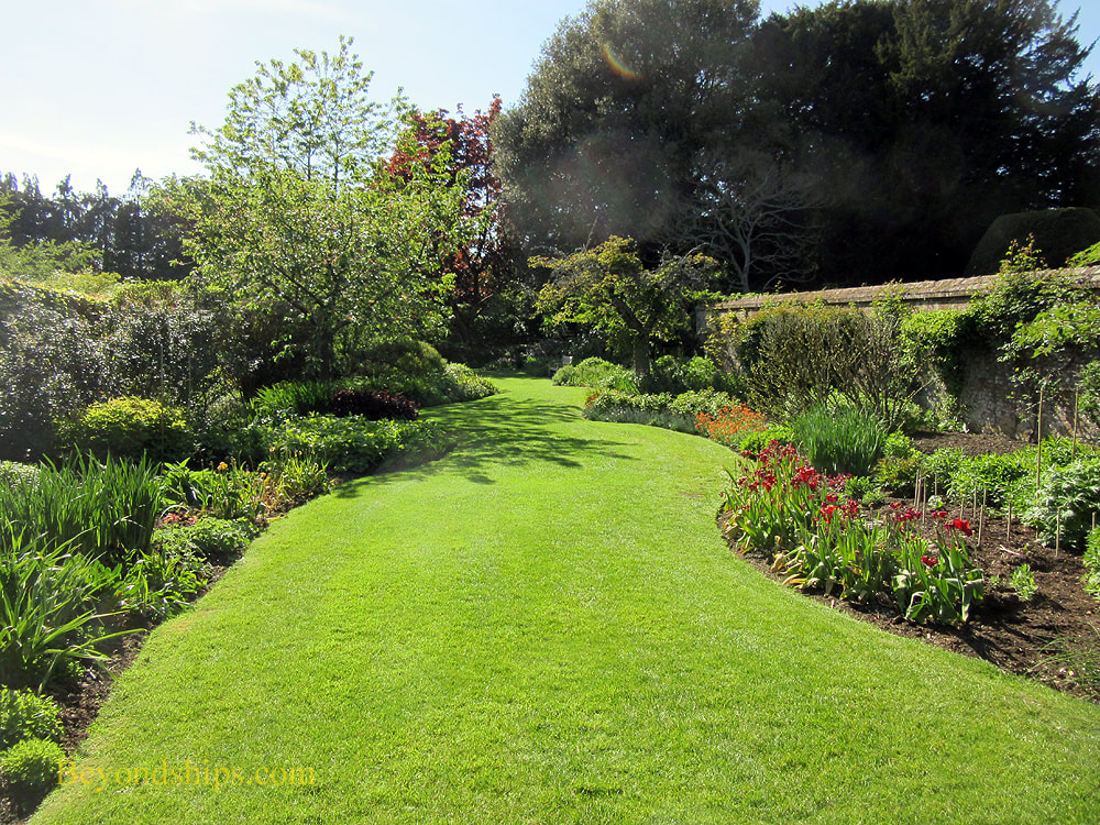 Garden at Highclere Castle