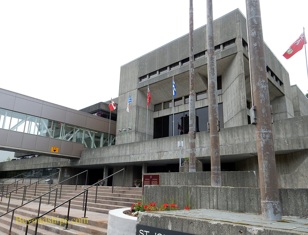 City Hall,  St. John's Newfoundland