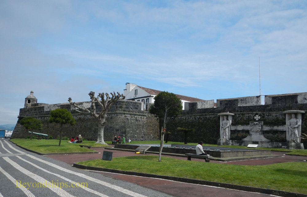 Fortress and military museum, Ponta Delgada, Azores