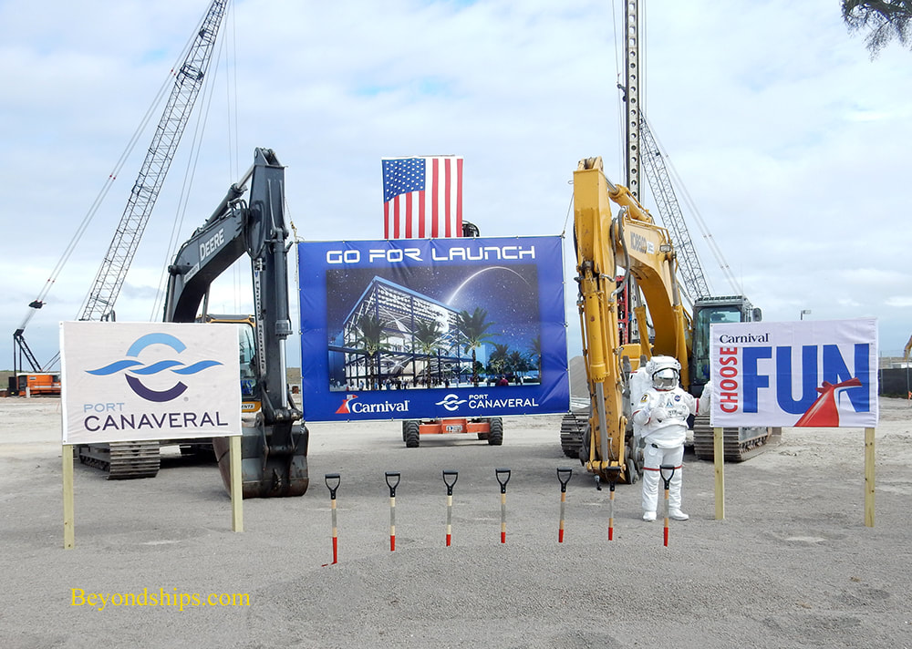 Port Canaveral Cruise Terminal 3 groundbreaking
